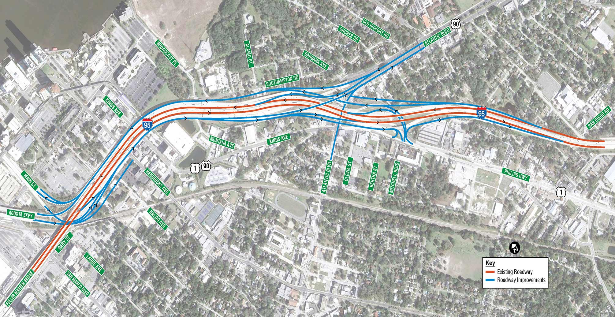 FDOT - I-95 Overland Bridge Replacement Project